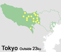 東京23区外